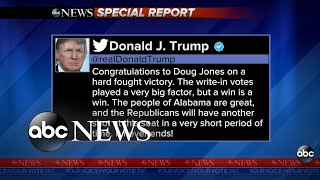 Trump weighs in on Alabama Special Election