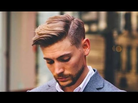 mens hairstyles short sides medium top comb over  youtube