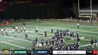 Averett football vs. Methodist