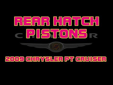 2009 Chrysler Pt Cruiser Rear Hatch Pistons