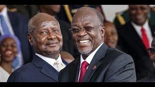 LIVE: JPM na Museveni kwenye uwekaji wa jiwe la msingi mradi wa Bomba la mafuta Uganda