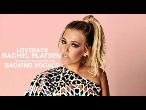 Loveback (Karaoke/Instrumental) - Rachel Platten +Backing Vocals
