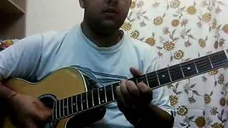 """Aadat"" from Jal (original scale) guitar chords n solo"