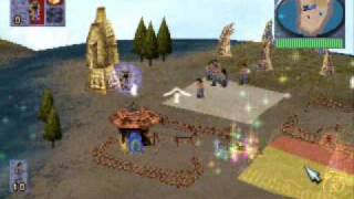 Populous - The Beginning Gameplay pSX 1.13