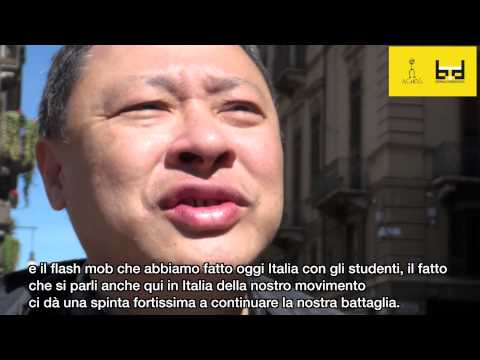 Intervista a Benny Tai, Umbrella Revolution