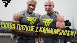 Chada trenuje z Michałem Karmowskim