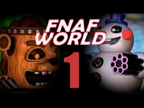 The Clocks... | FNaF World #1