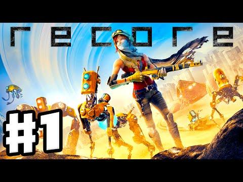 ReCore - Gameplay Walkthrough Part 1 - Joule & Mack Intro, Far Eden, Pylon 512! (PC, Xbox One, Ep 1)