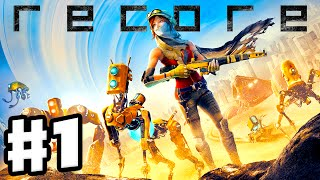 ReCore - Gameplay Walkthrough Part 1 - Joule & Mack Intro, Far Eden, Pylon 512! (PC, Xbox One, Ep 1)