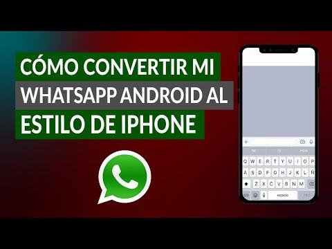 Cómo Convertir mi WhatsApp Android al Estilo de iPhone con sus Emojis