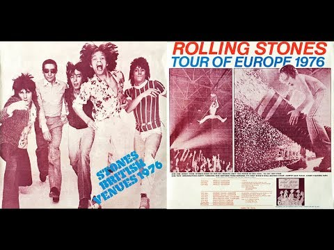 STONES BRITISH VENUES 1976 Rolling Stones