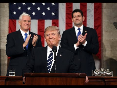 Live: Donald Trump State of the Union address