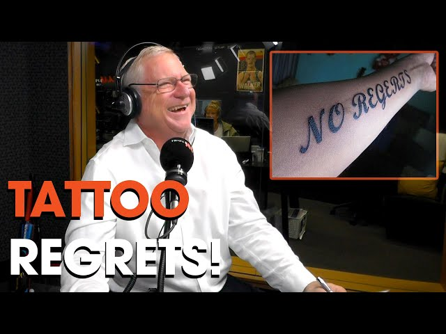 Tattoo Regrets | Roo & Ditts | Triple M
