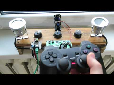 ROV PS2 Controller TEST
