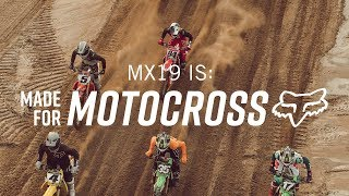 FOX MX  MX19  S MADE FOR MOTOCROSS   R CKY CARM CHAEL KEN ROCZEN RYAN DUNGEY ADAM C ANC ARULO