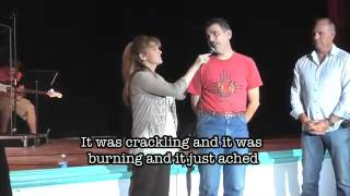 Lost weight, distended stomach healed supernaturally at Katie Souza conference.