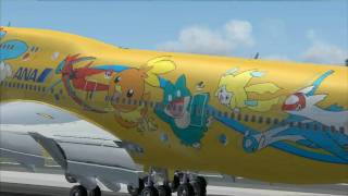 Fly Away ~ FS2004  Tokyo Intl Airport 1080p