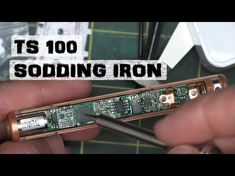 BOLTR: TS 100 Soldering Iron | Quickie