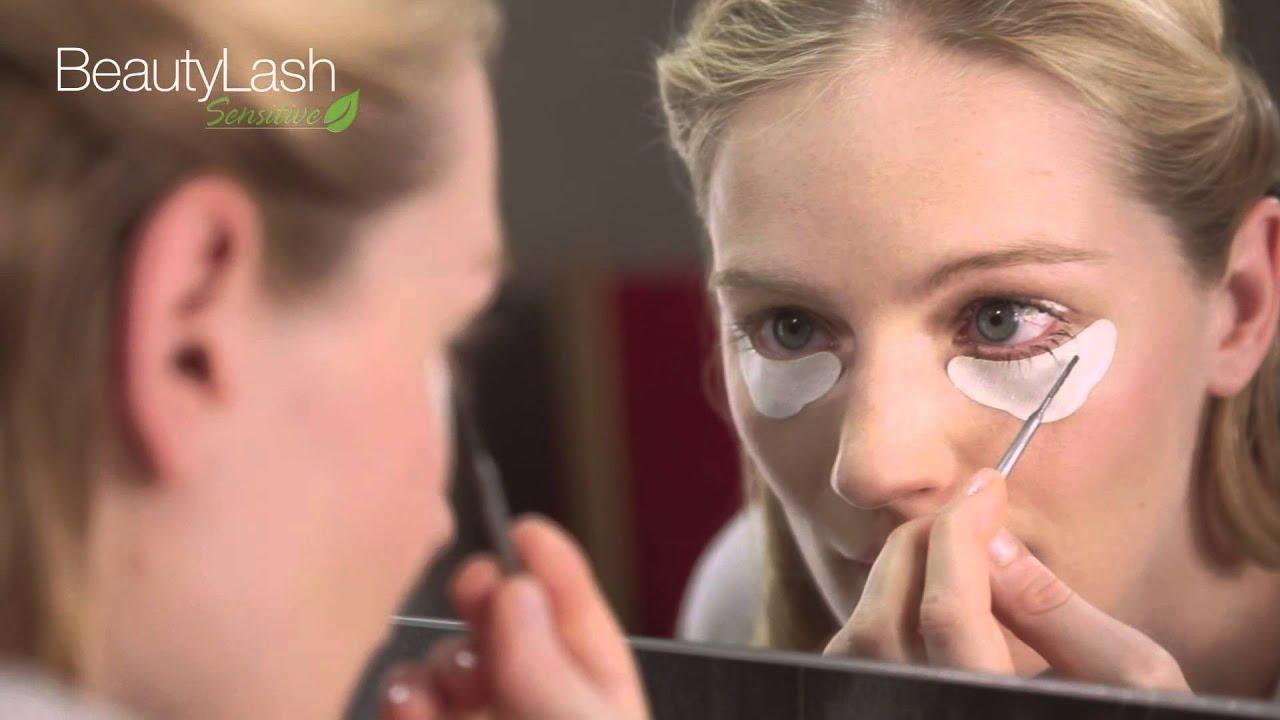 BeautyLash Sensitive eyelash and eyebrow tinting kit - YouTube