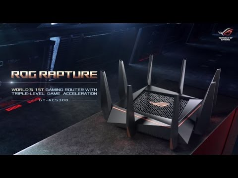 ROG Rapture GT-AC5300 - Wireless-AC5300 Tri-band Gaming Router
