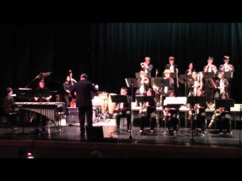 On The Street Where You Live (2013/14 Jazz Band)
