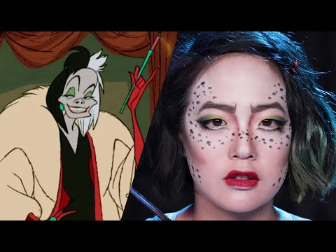 Disney Villains Makeup Challenge  Artist Vs. Beauty Lover