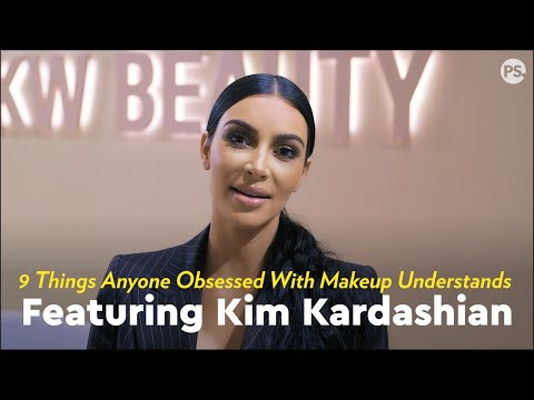 Kim Kardashian Reacts To 9 Things Anyone Obsessed With Makeup Understands