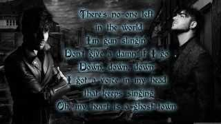 Adam Lambert - Ghost Town (lyrics)