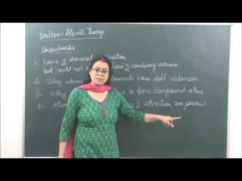 CHEM-XI-1-03 Daltons Atomic theory (2017) Pradeep Kshetrapal Physics channel