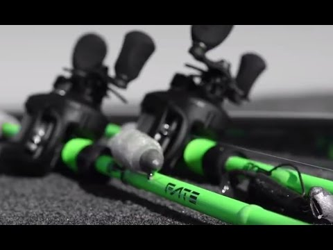 The new one 3 fate black rods from 13 fishing youtube for Concept z 13 fishing