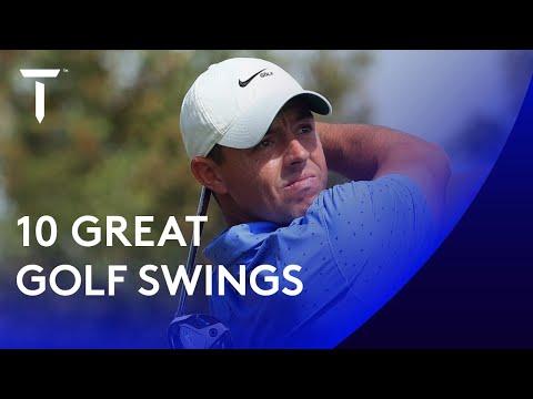 10 Great Golf Swings