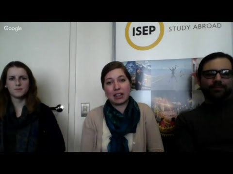 Live Advising: ISEP Direct Programs with Social Engagement