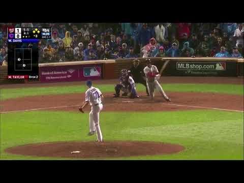 Michael Taylor Grand Slam vs Cubs | Nationals vs Cubs Game 4 NLDS