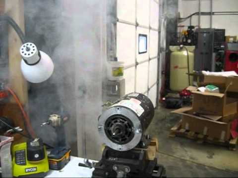 Hot tub pump motor explosion blow up youtube for Hot tub pumps and motors