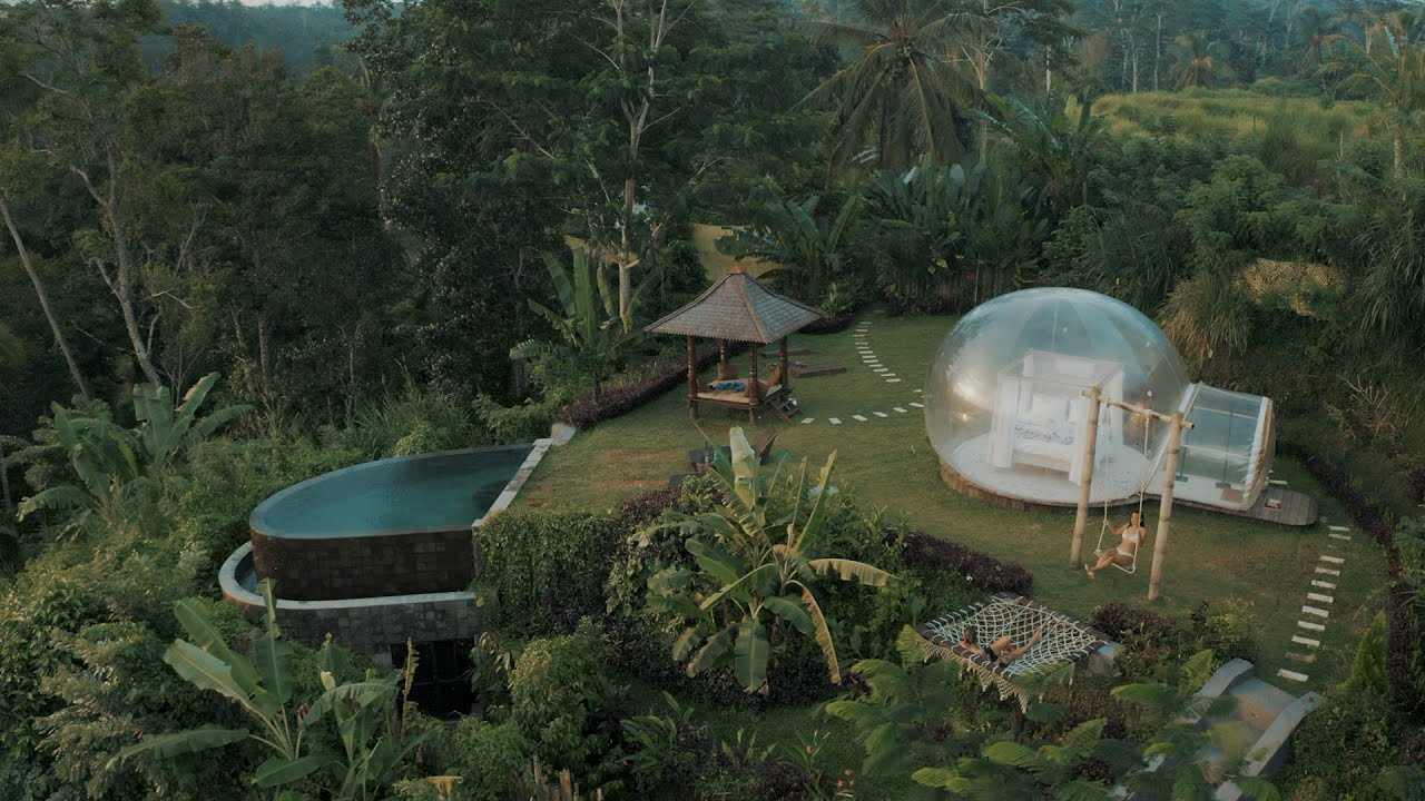 Bubble Hotel Ubud Bali - Beautiful and Exclusive