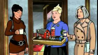 "Archer. Opening scene from the episode ""Stage Two"""