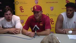 USC Football - Post Game Presser: Texas