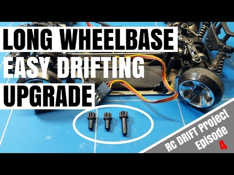 Wltoys K989 1 28 Rc Drift Project EP4 Long Wheel Base Pinion Gear Upgrade For Easy Drifting Experien
