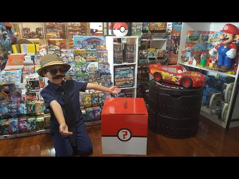 Opening Worlds BIGGEST POKEMON MYSTERY BOX!! Whats Inside? Crazy Pokemon Card Pulls!! MBM #9