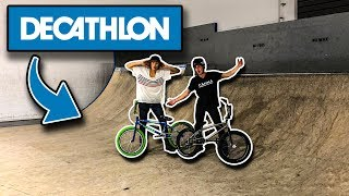 ON CONSTRUIT UN SKATEPARK DANS DECATHLON !!