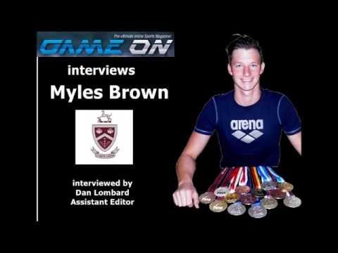 Game On Magazine interviews Myles Brown
