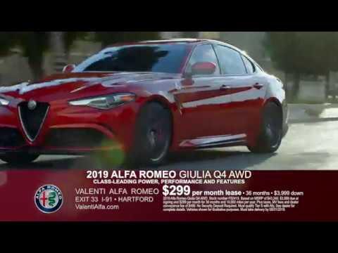 valenti alfa romeo august lease specials on giulia stelvio in hartford ct youtube youtube