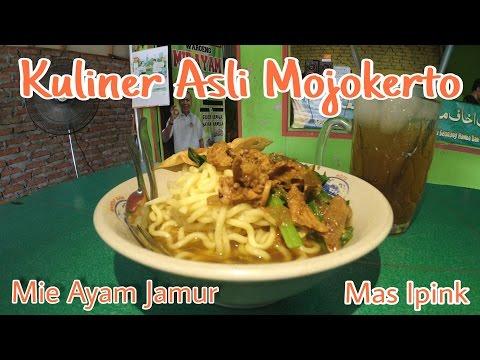 Wisata Kuliner Mojokerto - Enak, Murah Dan Bikin Ketagihan - Mie Ayam Jamur #Moker Food