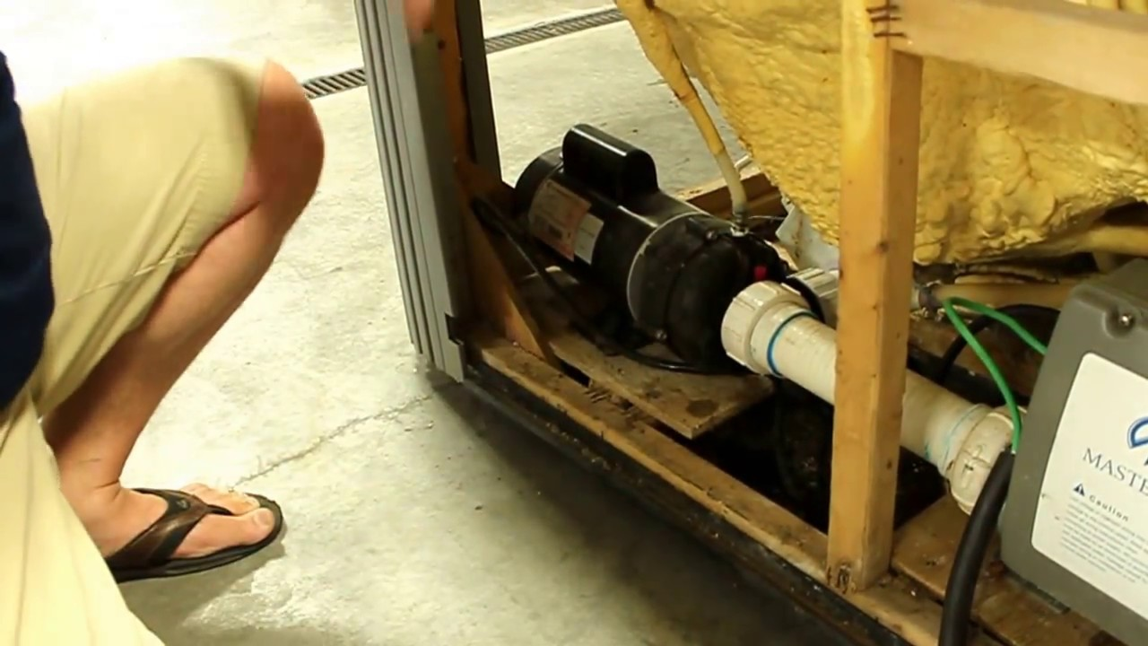 How To Un Airlock Your Spa Pump Youtube