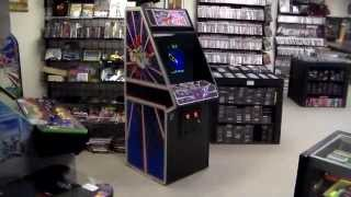 Atari's 1981 Tempest Arcade Game - Upright Cabinet - Overview, Gameplay!