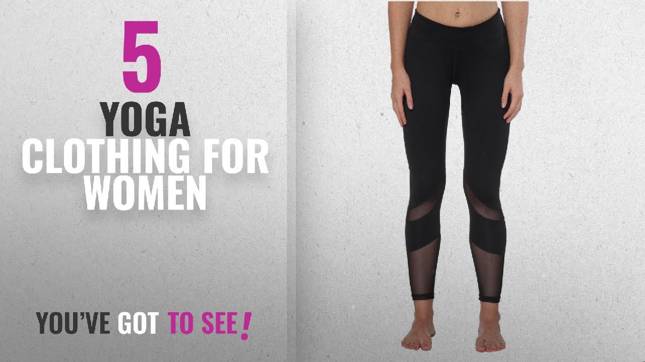 d814d94c1005a Top 10 Yoga Clothing For Women [2018]: Yoga Pants, FEIVO Women's ...