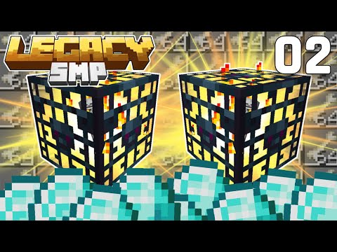 Diamond Profits & Double Spawner! - Legacy SMP #2 (Multiplayer Let's Play) | Minecraft 1.15