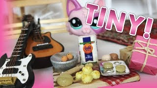 Miniature Accessories HAUL! For LPS/Dolls - Food, Furniture, more!
