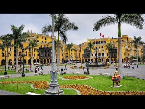 El centro histórico de Lima, patrimonio de la Humanidad