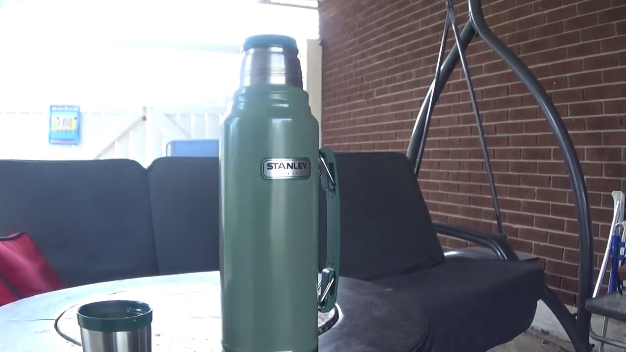 review of stanley steel green thermos for coffee test made in china ...